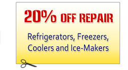 Appliances Repair Discount Coupon